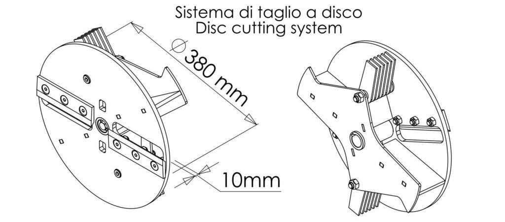 Zeffira sistema di taglio 1