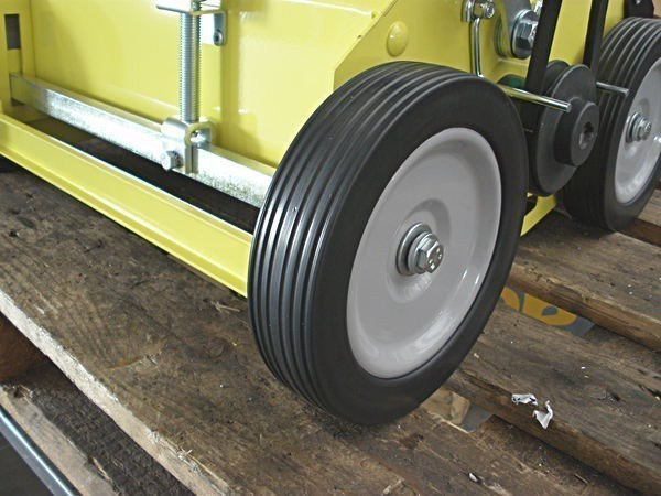 ruote metalicche su cuscinetti arieggiatore a spinta agrinova