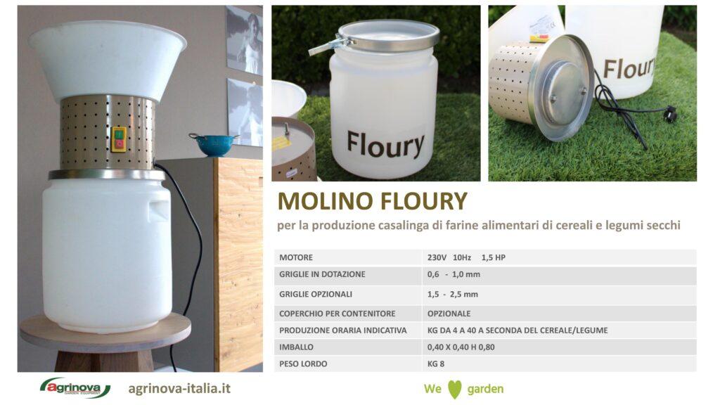 Molino Floury farina fatta in casa Agrinova