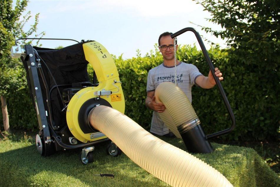 tubo aspirazione corrugato oswald aspirafoglie soffiatore spazzola agrinova macchina agricoltura giardinaggio risultato 3