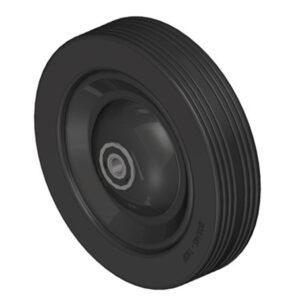 Jeff 38-45-60 kit 4 ruote cerchio metallico compatibili