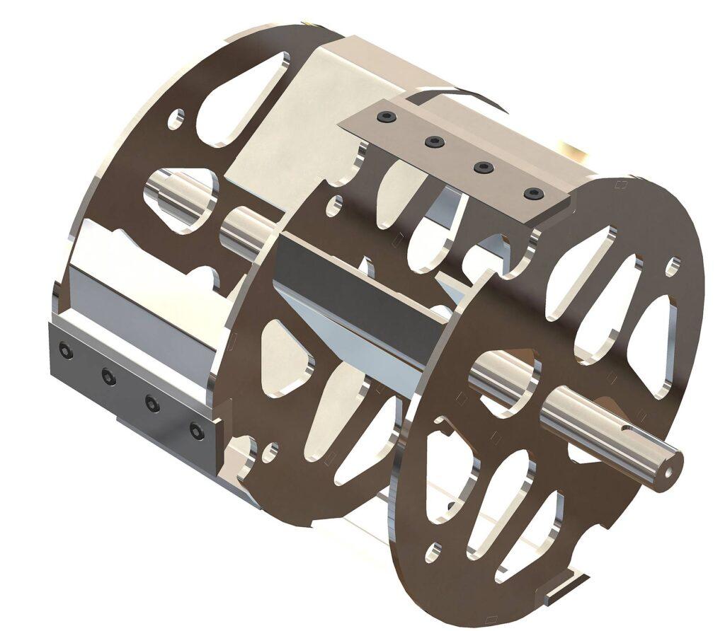 6 sistema di taglio cippatore ZENITH Agrinova